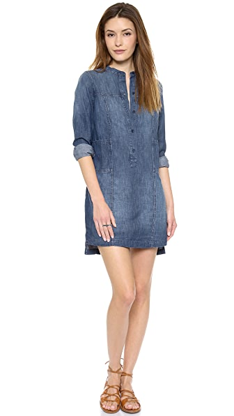 Madewell Chambray Shirtdress