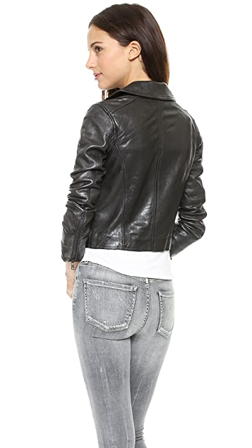 Madewell Perfect Leather Moto Jacket