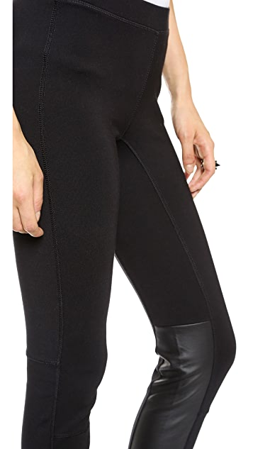 Madewell Pieced Ponte Pants