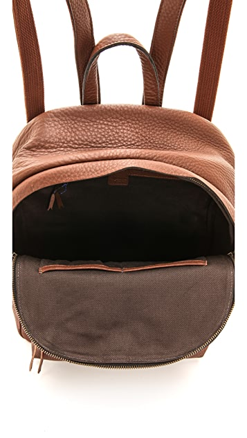 Madewell Grainy Leather Backpack