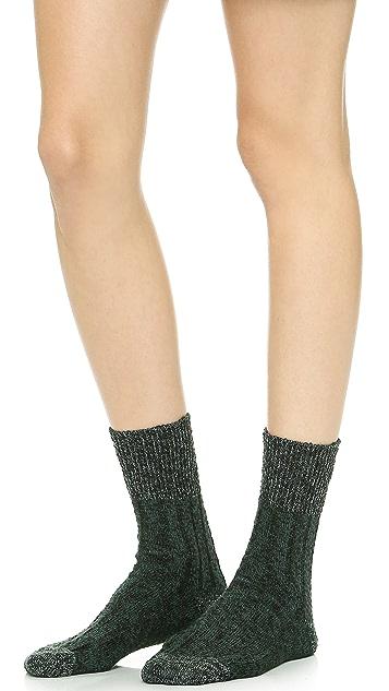 Madewell Chunky Rib Trouser Socks