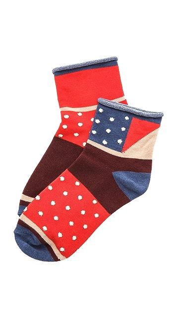 Madewell Mismatched Ankle Socks