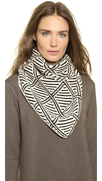 Madewell Diamond Bandana Triangle Scarf