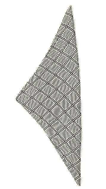 Madewell Diamond Bandana Triangle Scarf