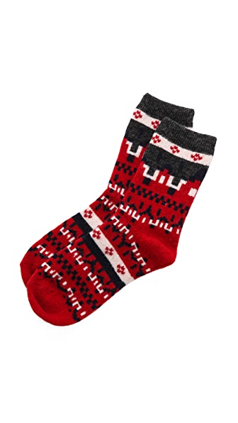Madewell Fair Isle Trouser Socks