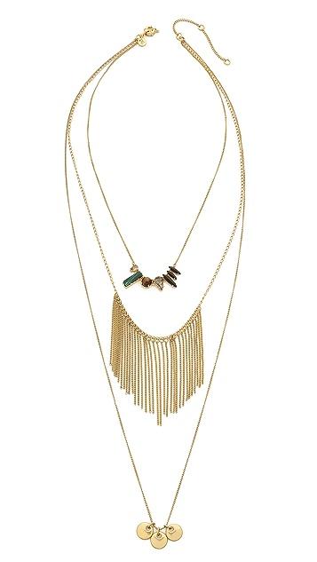 Madewell Layered Lula Crystal Necklace