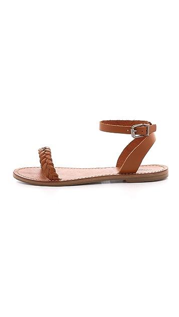 Madewell Braided Sightseer Sandals