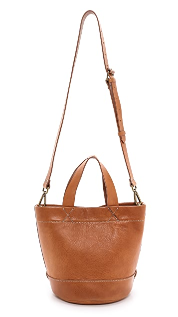 Madewell Rivet & Thread Cross Body Bucket Bag