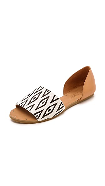 Madewell Thea Diamond Ikat Sandals