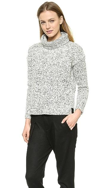 Madewell Marled Turtleneck Sweater