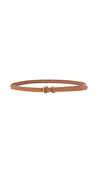 Madewell Woven Center Skinny Belt
