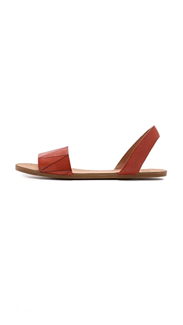 Madewell The Abbi Slingback Sandals