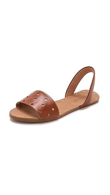 Madewell The Abbi Slingback Sandals