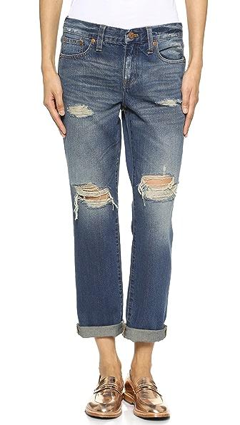 Madewell Destructed Boyfriend Jeans