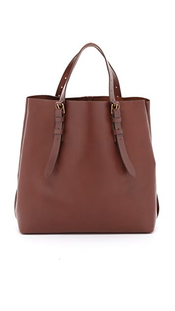 Madewell Snap Gusset Fenwick Tote