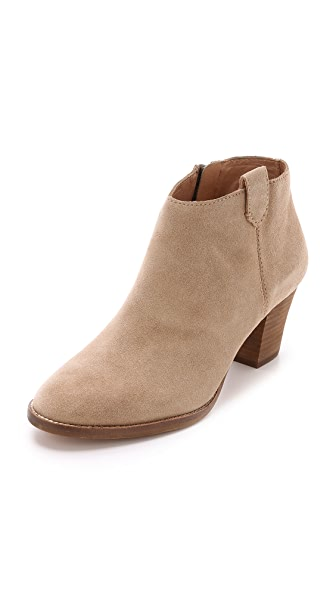 Madewell The Brook Side Tab Suede Booties