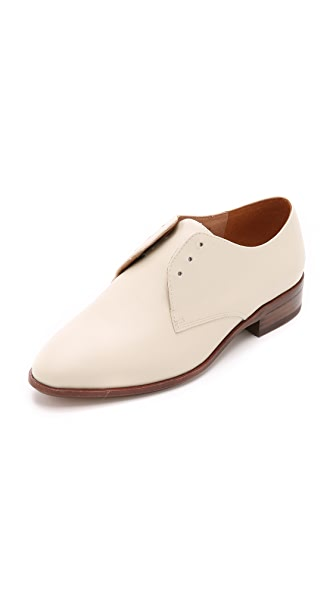 Shop Madewell online and buy Madewell The Preston Oxfords Antique Cream shoes online