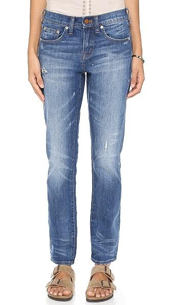 Madewell Slim Hatfield Boyfriend Jeans