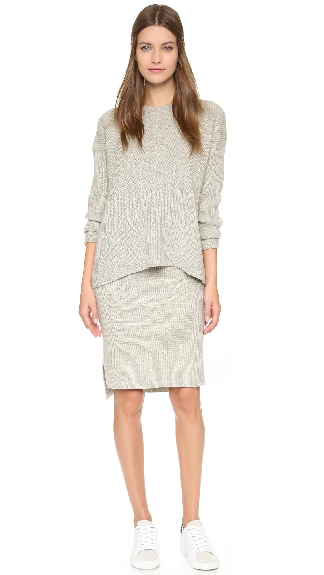 Madewell Bryn Ribbed Sweater Skirt | SHOPBOP