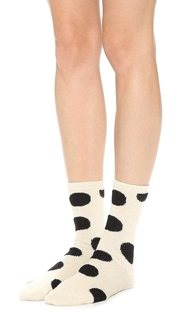Madewell Big Dot Trouser Socks