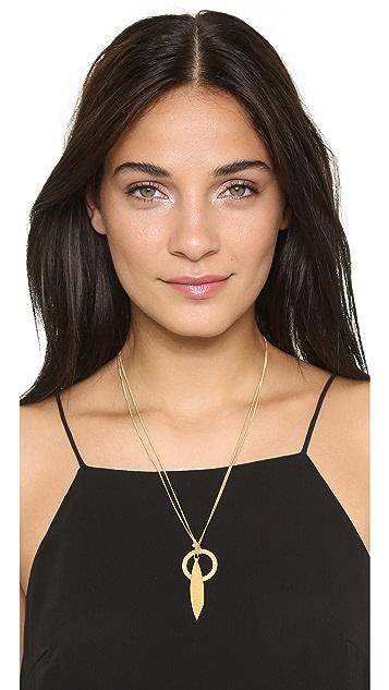 Madewell Sara Double Twist Necklace