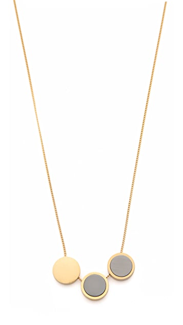 Madewell Moonshade Baby Necklace