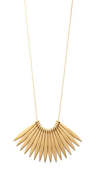 Madewell Sara Necklace - Vintage Gold