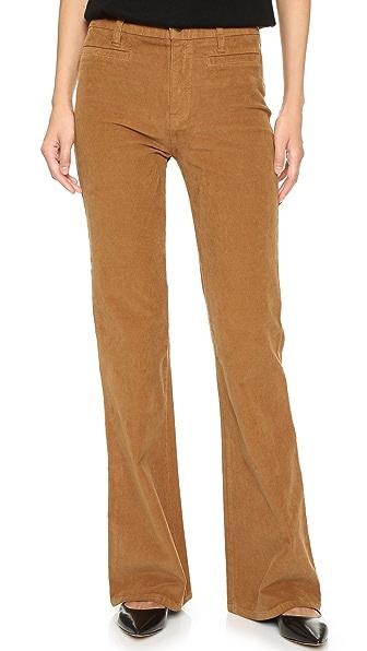 Madewell Flea Market Corduroy Flare Pants