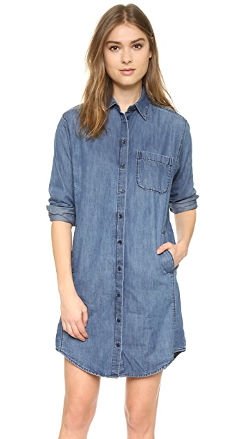 Madewell Denim Cozy Shirtdress