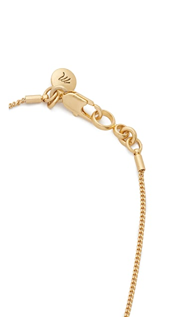 Madewell Bullseye Baby Necklace
