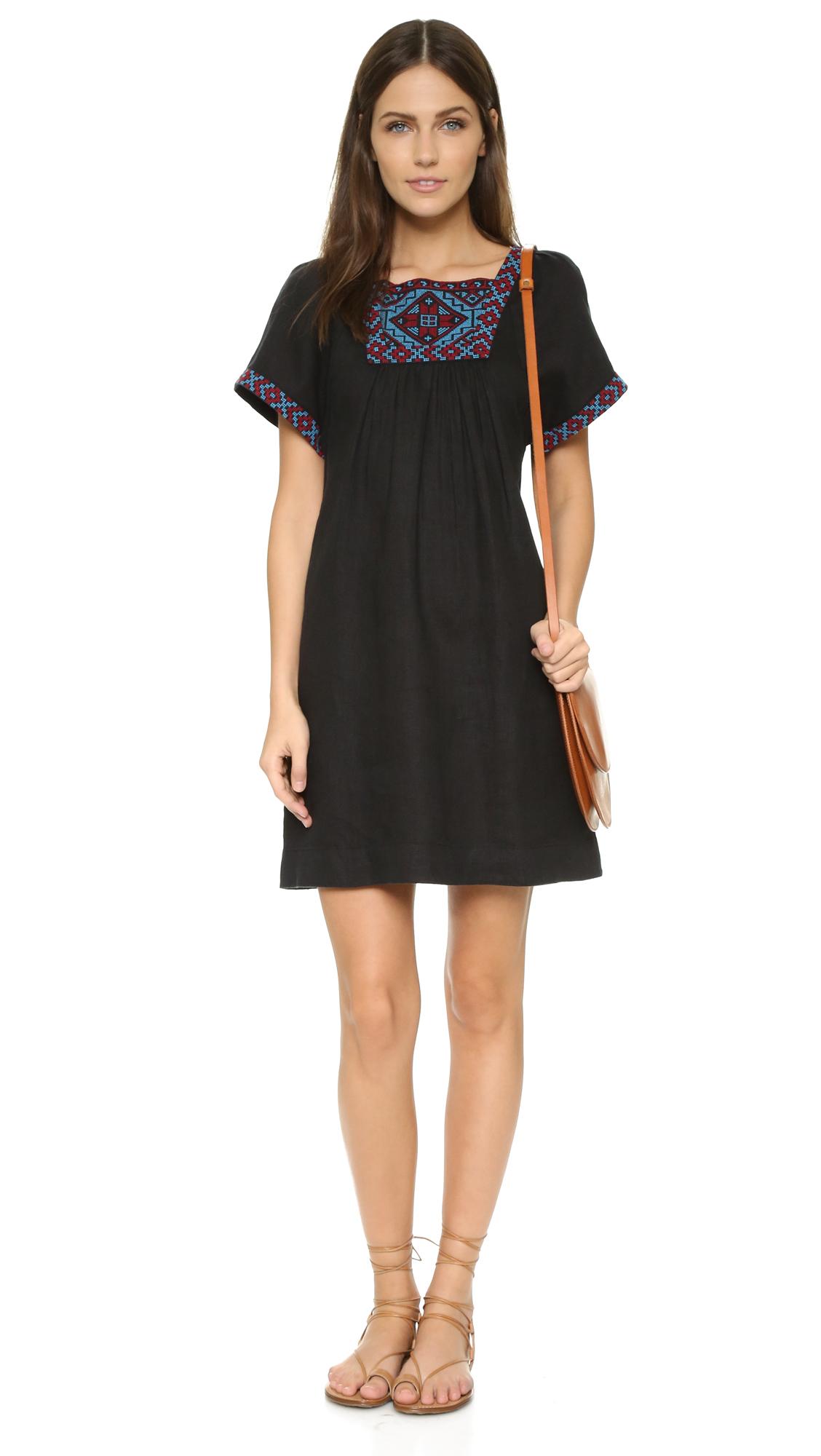 b2053d4b45 Madewell Embroidered Wander Dress