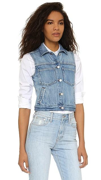 Madewell Pocket Jean Vest