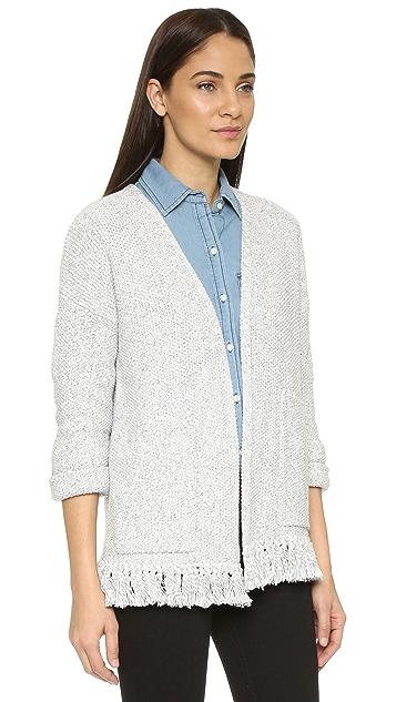 Madewell Memento Fringe Cardigan Sweater
