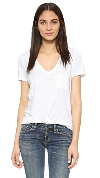 Madewell Whisper V Neck Tee