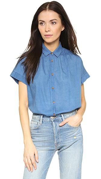 Madewell Boxy Side Seam Top