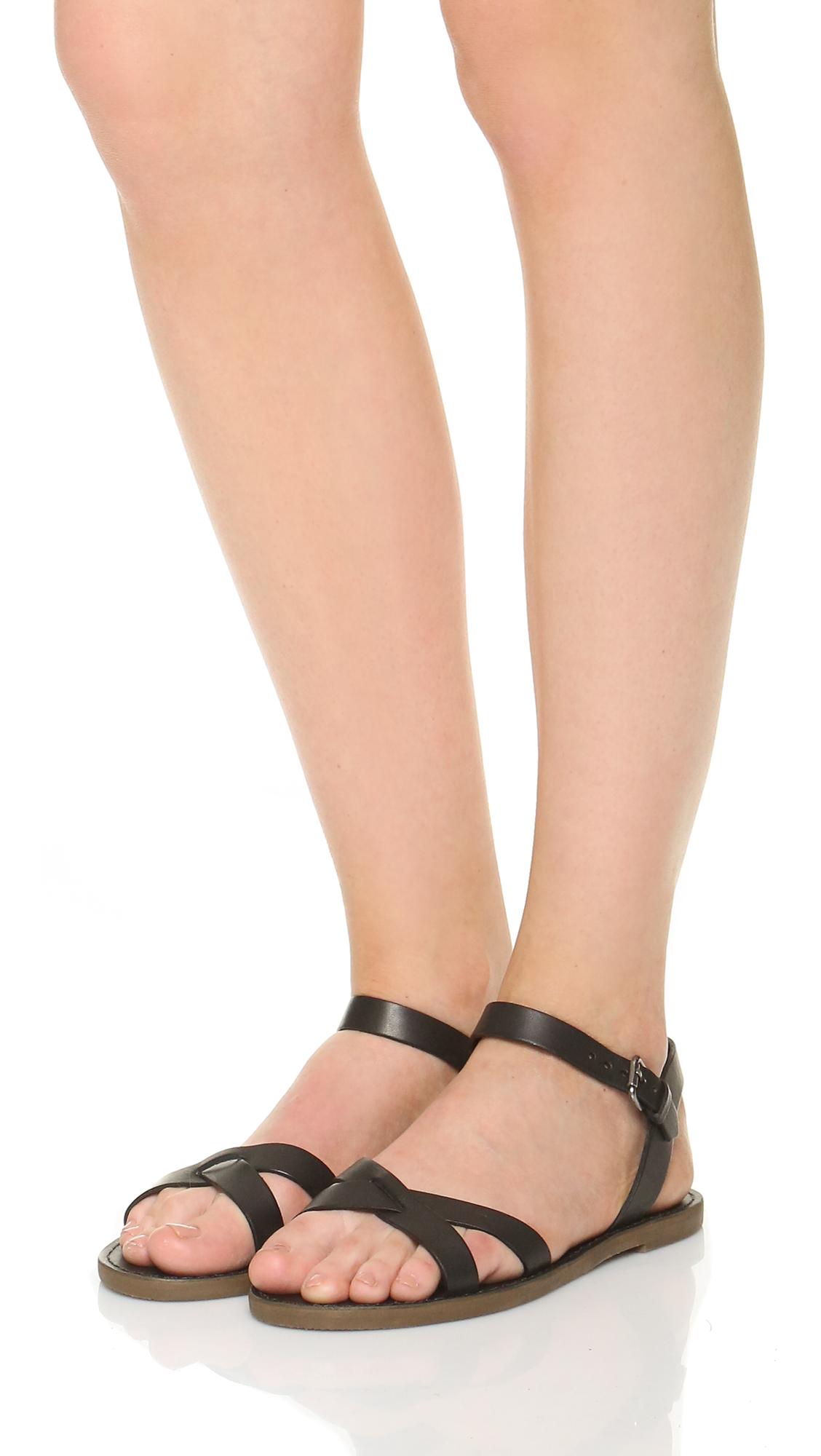 b4fb9e972 Madewell Boardwalk Crisscross Sandals | SHOPBOP