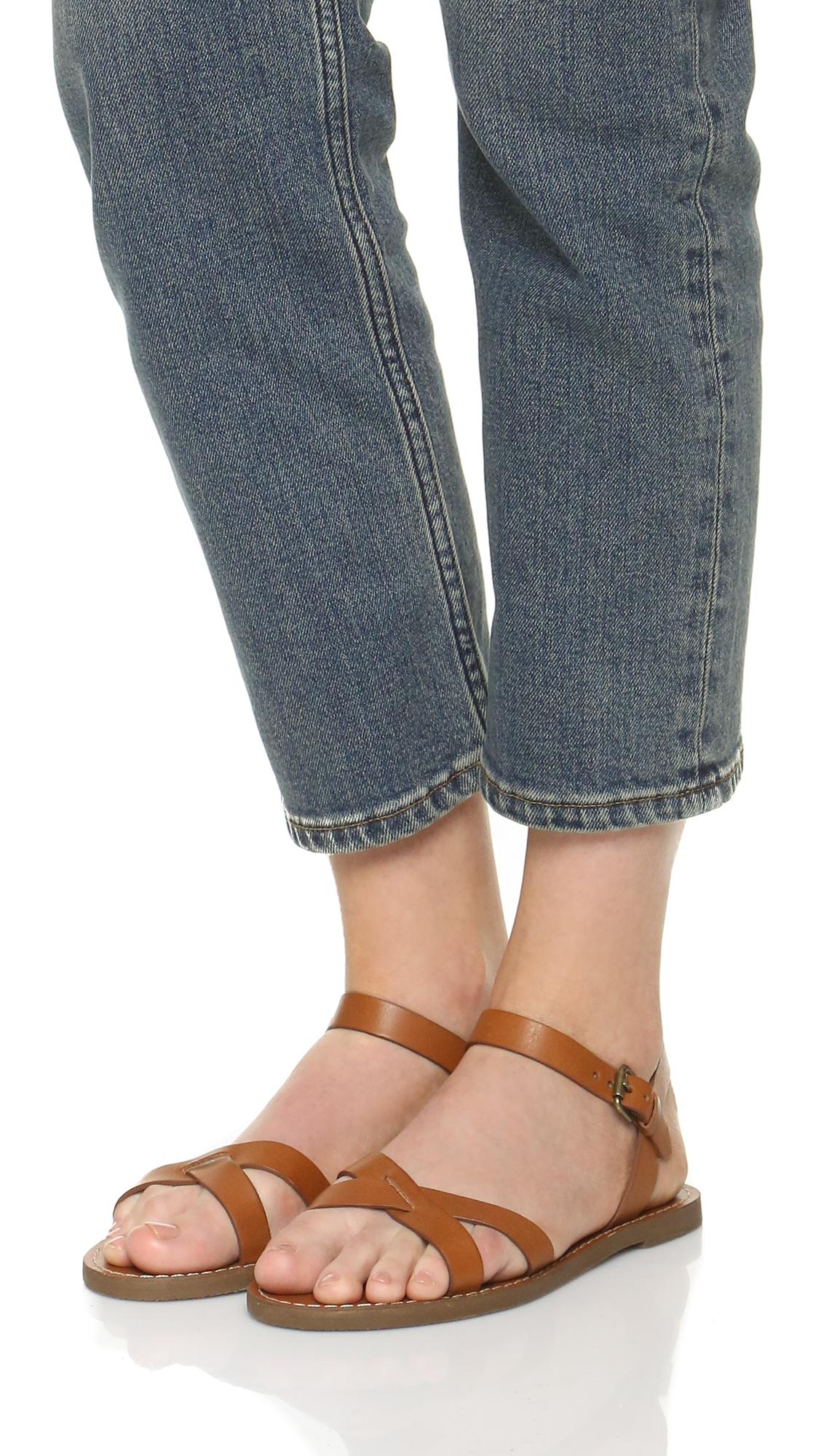 fe41630b6aeb Madewell Boardwalk Crisscross Sandals
