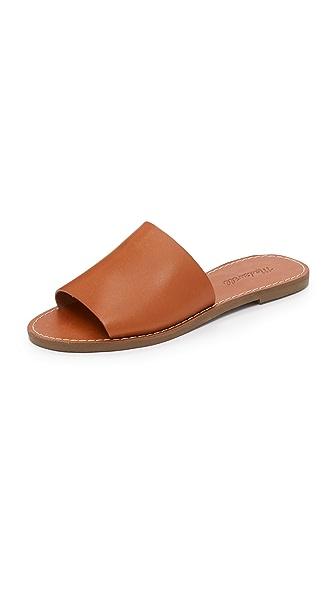Madewell Boardwalk Slide Sandals