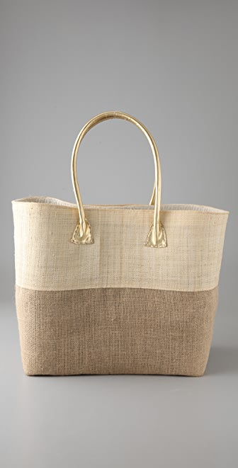 Mar Y Sol Avalon Raffia Beach Tote
