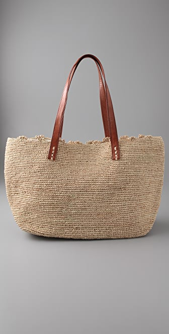 Mar Y Sol Wellfleet Raffia Bag