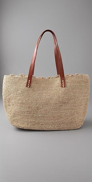 Mar Y Sol Wellfleet Raffia Bag