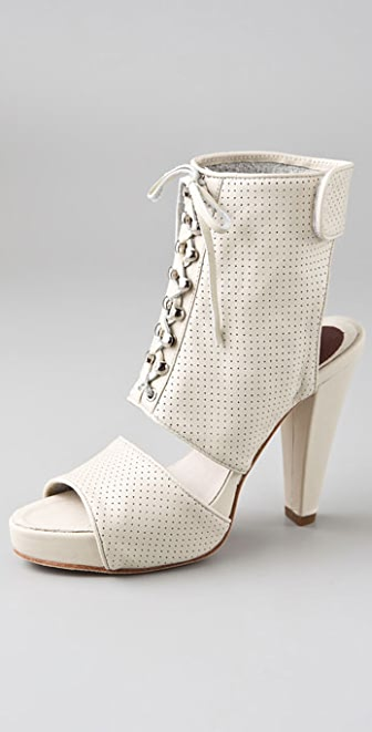 Madison Harding Tilden Perforated Platform Booties