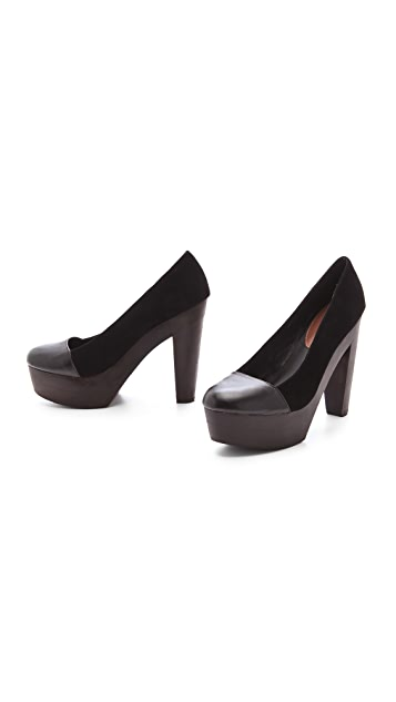 Madison Harding Christian Cap Toe Pumps