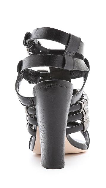 Madison Harding Suzie Metal Ring Sandals