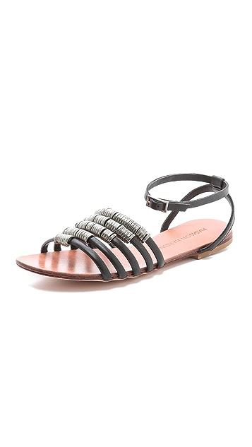 Madison Harding Arty Flat Sandals