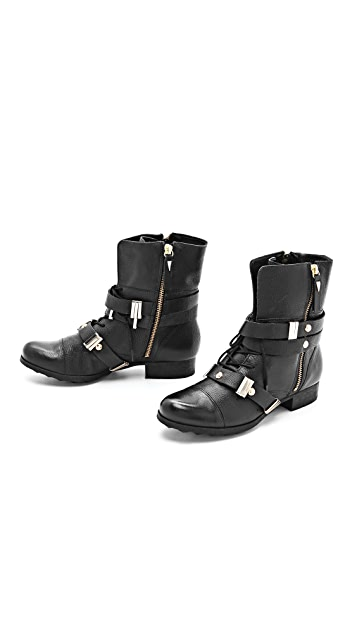 Madison Harding Hyde Combat Booties
