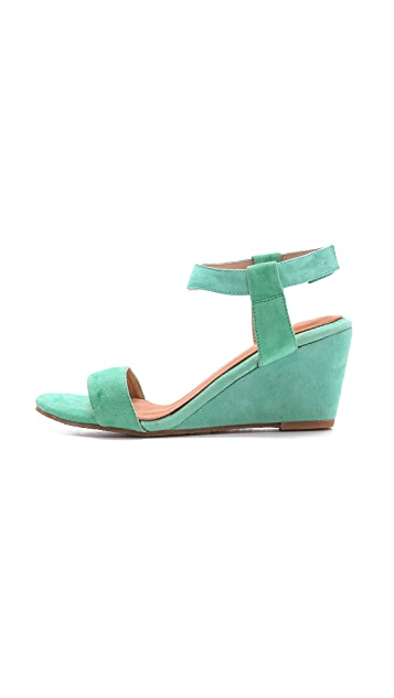 Madison Harding Sogo Low Wedge Sandals