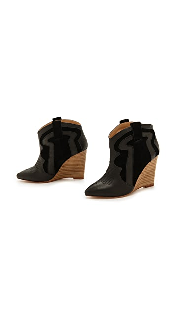 Madison Harding Vendell Wedge Booties