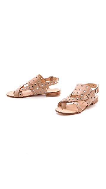 Madison Harding Angelique Studded Sandals
