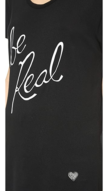 Mad Over You Relax Be Real Tee